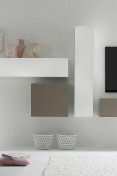 Wohnwand Como IV #wohnaura #möbel #design #einrichten #idee  #inneneinrichtung #