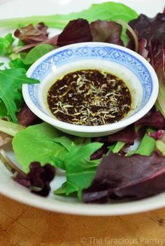 - Clean Eating Vinaigrette - I had no idea about the balsamic vinegar and the olive oil flavor. Check out her notes.