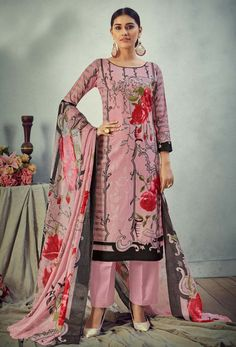 #Cotton #fabric is the #best #fabric in any #weathers, cotton #salwar #kameez is the best choice for any #girls or #womens, #Nikvik is the #bestseller of cotton salwar #suits in #USA #AUSTRALIA #CANADA #UAE #UK Peach Colors, Pink Color, Salwar Kameez Online, Cotton Pants, How To Dye Fabric, Fashion 2020, Fashion Pants, Printed Cotton, Pure Products