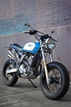 DR 650 Street Tracker - 66 Motorcycles - Custom 66 Streetracker & Cafe Racer