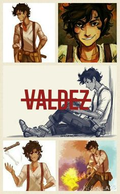 #leo #valdez #percyjackson<<< hot in the FanArt. Official art...not so much. These are so much better.