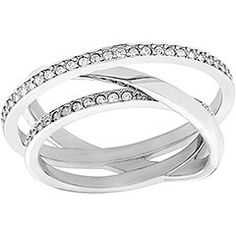 Swarovski Spiral Mini Ring- hoping this will be my wedding ring!