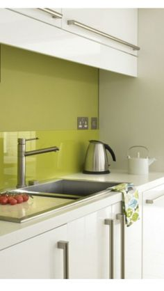 Metro Lime Green Kitchen Wall Tiles - Pair with //www ... on antique kitchen cabinets with yellow walls, home decor ideas with yellow walls, remodeling kitchen with yellow walls, flooring with yellow walls, curtains with yellow walls,