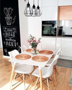 special dining room colors ideas with different vibes 2 Kitchen Interior, Room Interior, Interior Design Living Room, Kitchen Dining, Kitchen Decor, Sweet Home, Dining Room Colors, Best Dining, Home Living Room