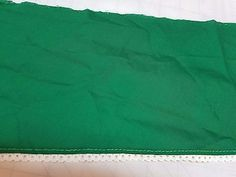 Hunter Green Cotton Trim  with White Lace  6 1/2 inches wide    2 yard 21 inches