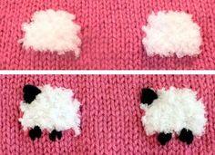 Kuzulu Bebek Battaniyesi Yapımı 9