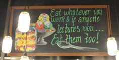 The 'go-ahead' to indulge at Nutmeg Cafe in Kuala Lumpur.
