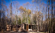 Located in the forest of Suwa in Nagano Prefecture at the foot of the Yatsugatake mountains, surrounded by the dense Japanese white birches, the Division Led Dance, Architecture Wallpaper, Wallpaper Magazine, Nagano, Contemporary Architecture, Building Design, Countryside, Division, Floor Plans