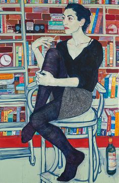 Drawings by artist Hope Gangloff    always loved her work
