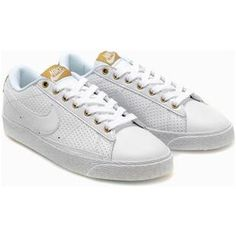 sale retailer ddd75 5a128 promo code for nike blazer low shoes white gold men 597fc 9cb4d