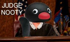 I'd watch Judge Judy if she was Pingu Funny Cute, Really Funny, Hilarious, Dankest Memes, Funny Memes, Jokes, Funny Picture Quotes, Funny Pictures, Pingu Memes