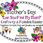 Are you looking for a fun craftivity for Mothers Day that also supports CC Standards?  Want a project and book that can be made by your students a...