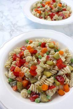 Pasta Salad – Delicious & Healthy AF | Vegan BBQ