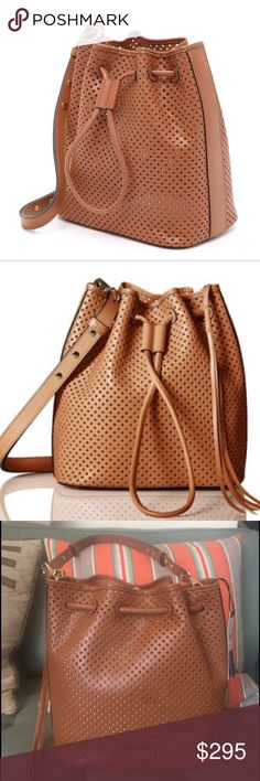 Rebecca Minkoff star bucket bag!!! Brand new with tags.  Completely sold out in stores.  The leathe ris super soft and the bucket bag is such a hot item!!! Rebecca Minkoff Bags Shoulder Bags
