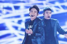 EXO 엑소 || 151227 SBS Gayo Daejun 2015 || Chen 첸, Kim Jong-Dae 김종대