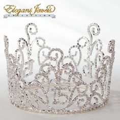 Quinceanera, Mis Quince Anos Rhinestone Crown Cake Topper - a dazzling topper for your quince cake!