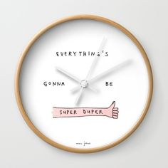Marc Johns on a wall clock? Sign me up please.