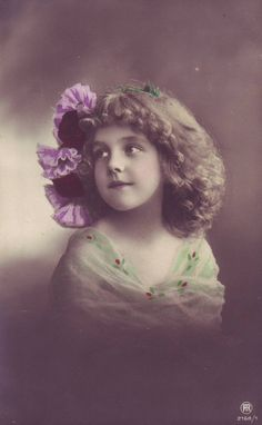 Mystery Girl  REVEALED!     by Susan Sumner     The Mystery Girl of Edwardian postcards is no longer a mystery!  The beautiful...
