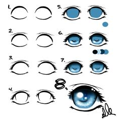 Manga Eyes Tutorial