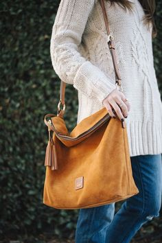 Тренд: сумка из замши 2