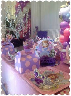 Sofia The First Party ~ Featured Party | Seshalyn's Party Ideas