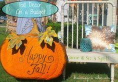 Fall Decor On A Budget!