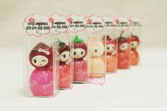 Tony Moly 7 Princess Lipgloss.  Estos brillos labiales son hermosos!  www.paraisokawaii.com