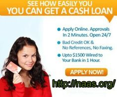 The cash is easier in 2014. Easy terms. No credit chacks. Easy approval for $1K to $10K cash loans. Students welcome  http://www.naas.org/cheap-student-loans/alabama-cheap-student-loans.php