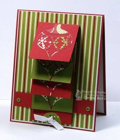 CCEE Waterfall Christmas CKM by LilLuvsStampin - Cards and Paper Crafts at Splitcoaststampers