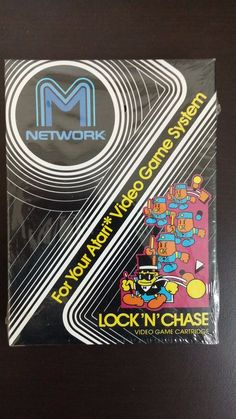 #atari 2600 game lock n chase new and sealed from $8.0