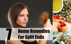 Top 7 Home Remedies For Split Ends