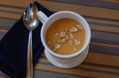 recipe for sweet potato soup with peanut butter that is quick ...