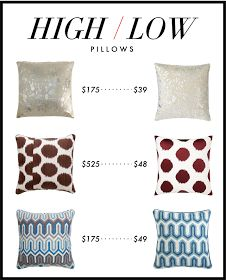 Kelly Market: HIGH/LOW: PILLOWS
