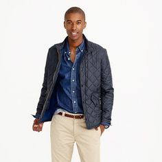 J.Crew+-+Barbour®+flyweight+Chelsea+quilted+jacket