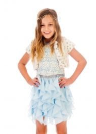 Shop unique Girls Clothing online featuring boutique limited edition tees, active swimwear, and active separates. Beach Dresses, Casual Dresses, Summer Dresses, Designer Kids Clothes, Designer Dresses, Little Girl Dresses, Girls Dresses, Girls Clothing Stores, Diamond Dress
