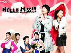 HELLO MISS.  2007 drama  based on Lee Ji-wan's novel Five Kimchi Mandu,   Cute Romantic Comedy. Taditional Girl meets Rich City boy. Rich City boy tries to buy Traditional Girls ancestral home. rich city boys' grandfather desperately wants it. He promises which ever grandchild gets it for him will inherit his company. Rich City boy and his playboy cousin vie for for the girl and property... all to get their hands on their inheritance? Happy Ending.