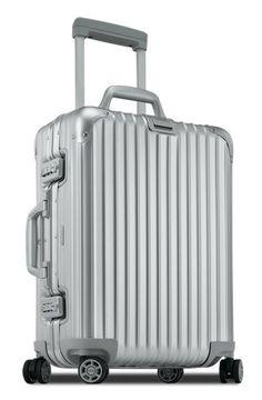 Best Hard Case Design Splurge:  Rimowa Topas Cabin Multiwheel®