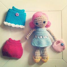 Dilly Dot A Crochet Doll PDF Pattern by AnnaboosHouse on Etsy
