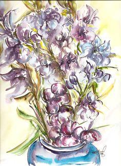 Flowers / watercolors