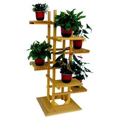 Leisure Season 6 Tier Pedestal Plant Stand | from hayneedle.com