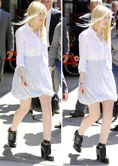 Dakota Fanning at the Tribeca Film Festival in NYC, April 19th
