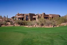 Desert Residence by The Phil Nichols Company - Build me one in Joshua Tree or Palm Springs, Cali
