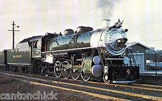Southern Railway Postcard Railroad Train Steam Locomotive No 4501 Engine Train Trip, Train Travel, Diesel, New York Central Railroad, Old Steam Train, Electric, Railroad History, Southern Railways, Norfolk Southern