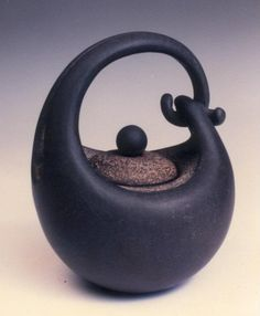 teapot  I like the flow of this one, its hugging itself.