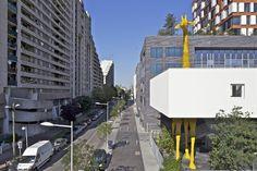 Giraffe Childcare Center / Hondelatte Laporte Architectes
