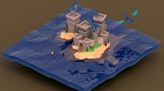 low poly water effect - Szukaj w Google