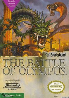 The Battle of Olympus - one of my favorite NES games of all time!