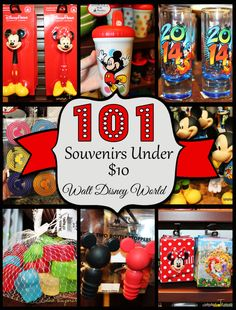 "It's so easy to spend a fortune on souvenirs at Disney World.  But here are suggestions for some that won't ""break the bank""!  #DisneySide"