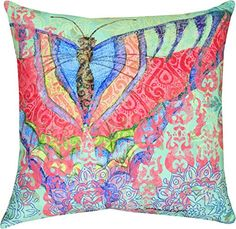 "MWW Manual Indoor/Outdoor Throw Pillow, 18"", Boho Nature Moth MWW http://www.amazon.com/dp/B00V8TFUN4/ref=cm_sw_r_pi_dp_3jzMvb1SE8PVJ"