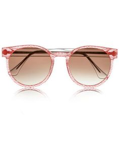 Thierry Lasry sunglasses in gorgeous pink!